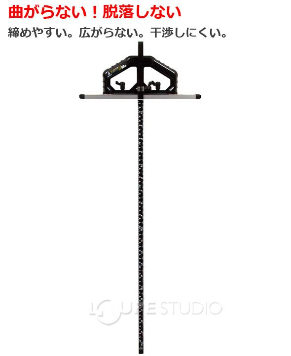 丸ノコガイド定規Tスライド2 60cm 併用目盛突き当て可動式
