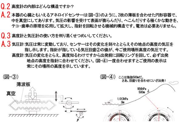 高度計の内部はどんな構造ですか?