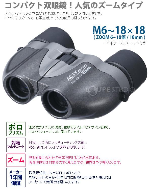 アクティM6-18×18